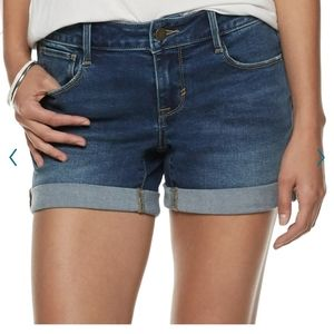 NWT women's jean shorts from Apt. 9.